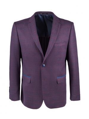 Пиджак STENSER. Цвет: бордовый