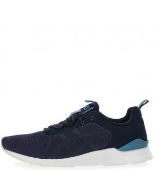 Текстильные кроссовки с втачной стелькой Asics Tiger. Цвет: синий