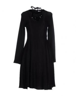 Платье до колена ANGELA MELE MILANO. Цвет: черный
