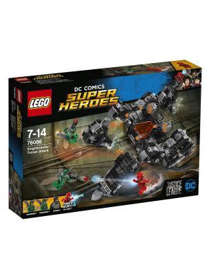 Super Heroes Сражение в туннеле 76086 LEGO. Цвет: синий
