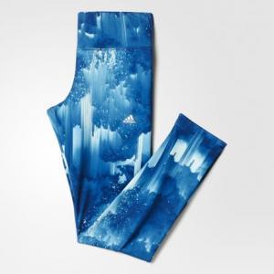 Леггинсы Climawarm  Performance adidas. Цвет: серебристый