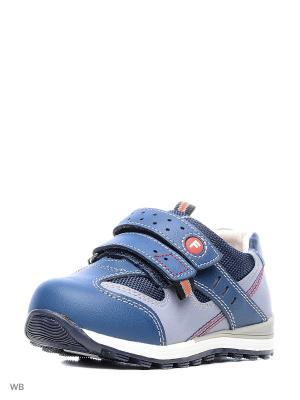 Ботинки Flamingo. Цвет: синий, серо-голубой