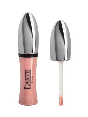 Увлажняющий блеск для губ COMFORT BRILLANTE, тон 22 L'arte del bello. Цвет: бледно-розовый