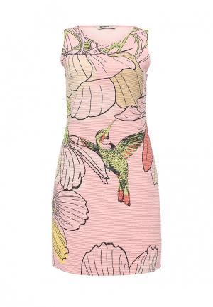 Платье Desigual. Цвет: розовый