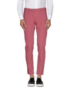 Повседневные брюки OAKS. Цвет: пурпурный