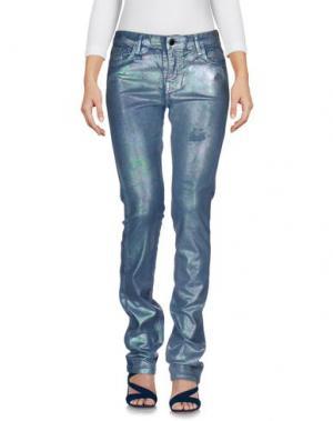 Джинсовые брюки 75 FAUBOURG. Цвет: грифельно-синий