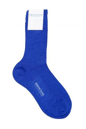 Кашемировые носки с шелком 142865 Bresciani. Цвет: синий
