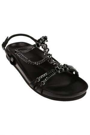 Туфли летние Barbara Bui. Цвет: черный