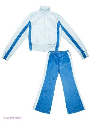 Спортивный костюм ADDIC. Цвет: голубой, синий