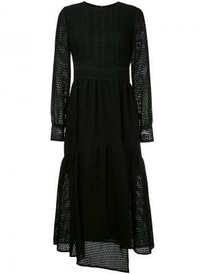 Расклешенное платье Goen.J. Цвет: чёрный