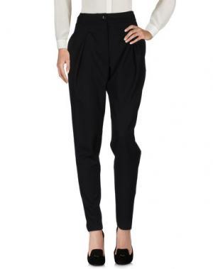 Повседневные брюки ULTRA'CHIC. Цвет: черный