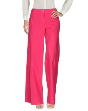 Повседневные брюки QL2 QUELLEDUE. Цвет: фуксия