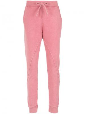 Tapered trousers Olympiah. Цвет: розовый и фиолетовый