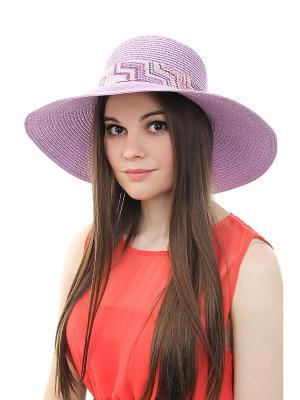 Шляпа Gusachi. Цвет: фиолетовый, голубой, коричневый, розовый