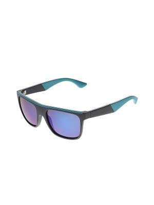 Очки солнцезащитные Happy Charms Family. Цвет: черный, синий, голубой
