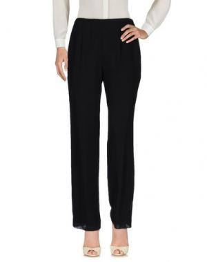 Повседневные брюки MUSANI COUTURE. Цвет: черный