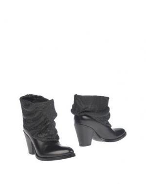 Полусапоги и высокие ботинки SARTORE. Цвет: черный