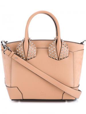 Маленькая сумка-тоут Eloise Christian Louboutin. Цвет: розовый и фиолетовый