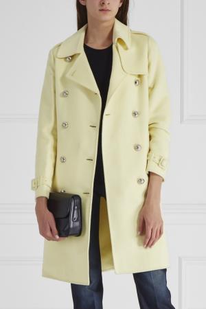 Пальто Gucci. Цвет: желтый
