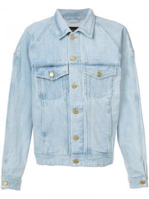 Классическая джинсовая куртка Fear Of God. Цвет: синий