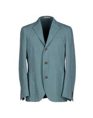 Пиджак ALAIN FRACASSÍ. Цвет: небесно-голубой