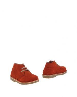 Полусапоги и высокие ботинки OCA-LOCA. Цвет: красный