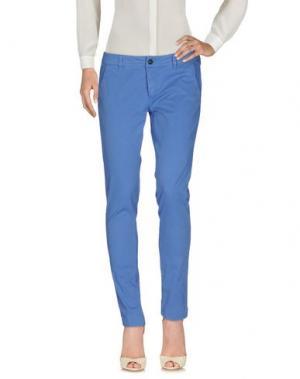 Повседневные брюки TELERIA ZED. Цвет: пастельно-синий