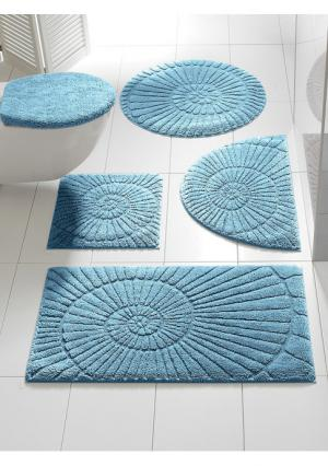 Комплект для ванной Heine Home. Цвет: серый
