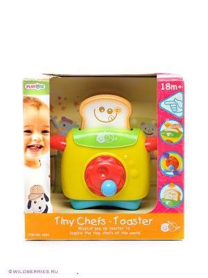 Игра Мой первый тостер PlayGo. Цвет: желтый