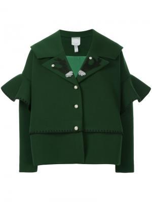 Свободная куртка Huishan Zhang. Цвет: зелёный