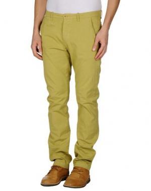 Повседневные брюки UNIFORM. Цвет: кислотно-зеленый