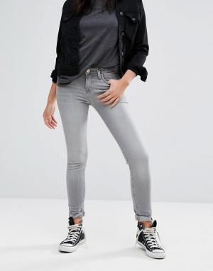 Lee Зауженные джинсы Scarlett. Цвет: серый
