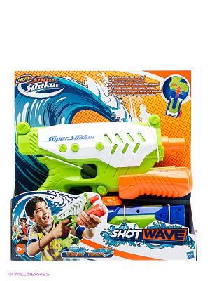 Супер Соакер Водяной выстрел NERF. Цвет: зеленый, красный, оранжевый, синий