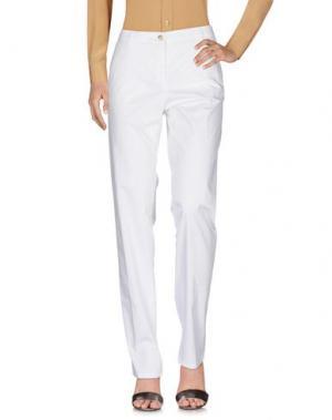 Повседневные брюки ALLEGRI. Цвет: белый
