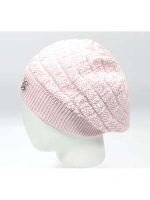 Берет Briollini. Цвет: розовый