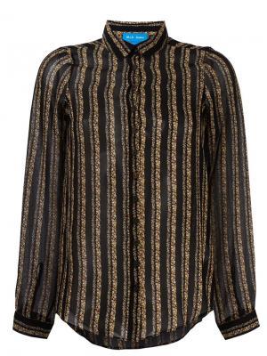Рубашка Evelyn Mih Jeans. Цвет: чёрный