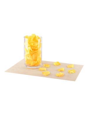 Набор декоративных лепестков EL CASA. Цвет: желтый