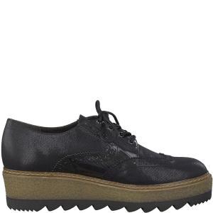 Ботинки-дерби Badam TAMARIS. Цвет: черный/серый