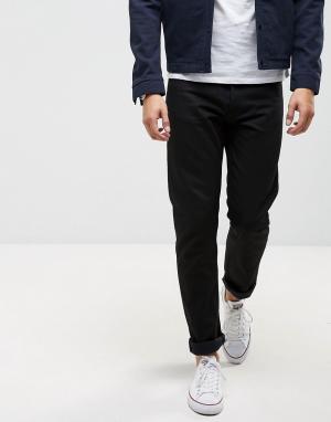 Nudie Jeans Прямые черные джинсы Co. Цвет: черный