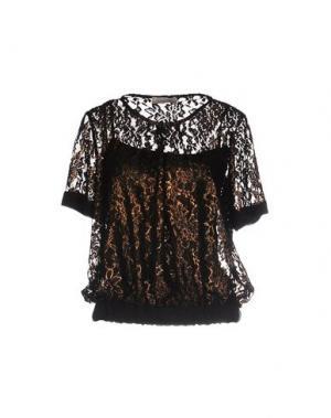Блузка LOU LONDON. Цвет: черный