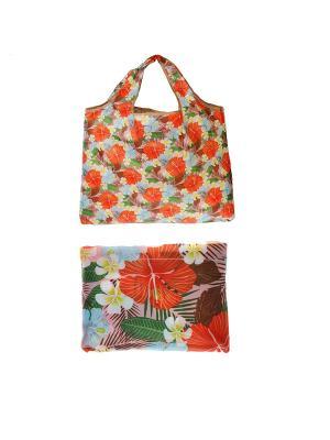Хозяйственная сумка, складная, полиэстер, 58*43см KONONO. Цвет: красный