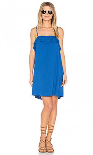 Платье birkin BB Dakota. Цвет: синий