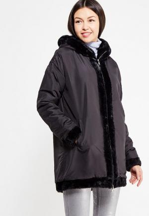 Куртка утепленная Dimensione Danza. Цвет: черный