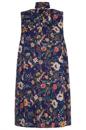 Платье Iska. Цвет: navy