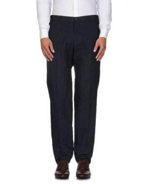 Повседневные брюки MARIO MATTEO. Цвет: темно-синий