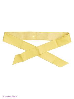 Пояс Sinequanone. Цвет: желтый