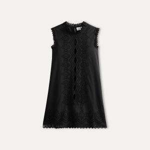 Платье с английской вышивкой HARTFORD. Цвет: темно-синий