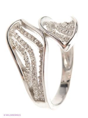 Кольцо Silver Wings. Цвет: белый, серебристый