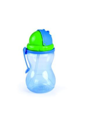 Поильник спортивный 370 мл, 12+, цвет: синий Canpol babies. Цвет: синий