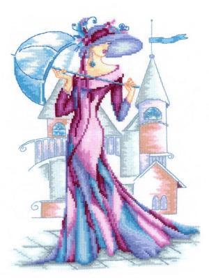 Набор для творчества Пурпурный шёлк Сделай своими руками. Цвет: белый